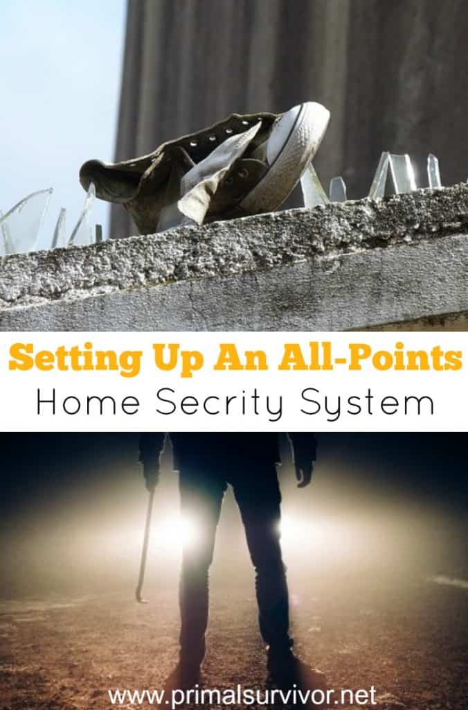 How to set up an all-points home security system