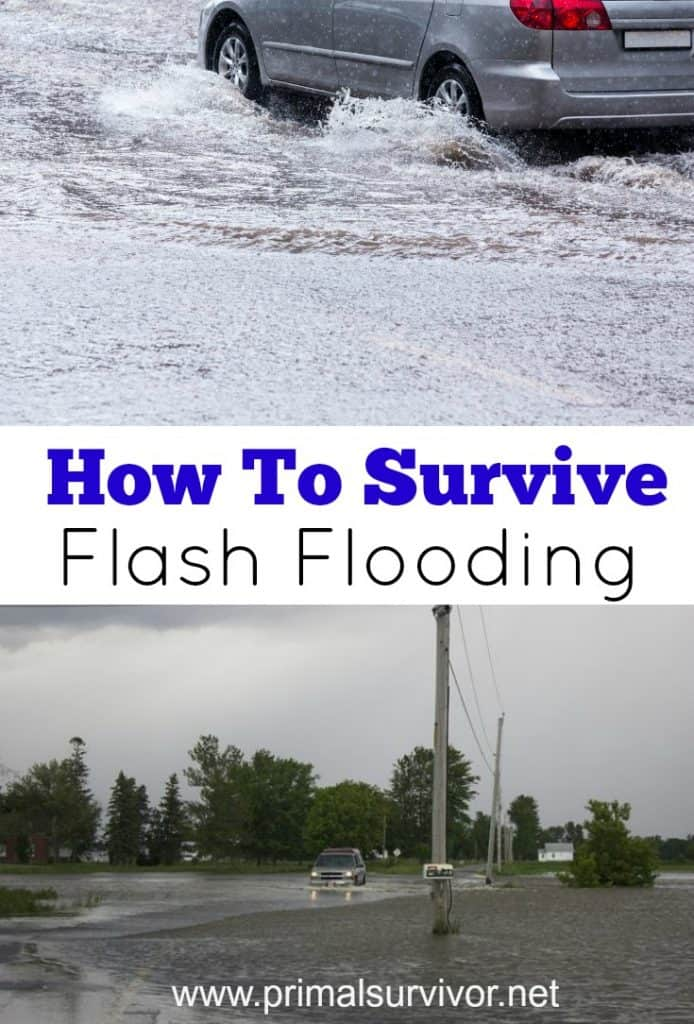 How to survive flash flooding