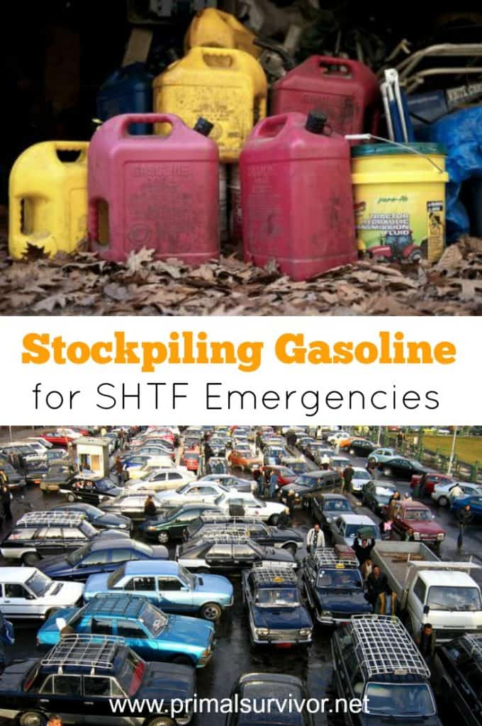 Stockpiling Gasoline for SHTF Emergencies
