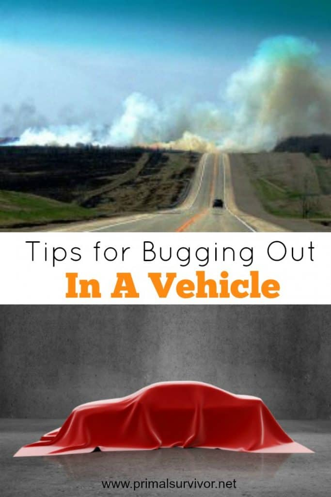 Tips for Bugging Out in a Vehicle