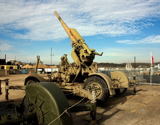 artillery weapon