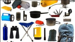 camping supplies list