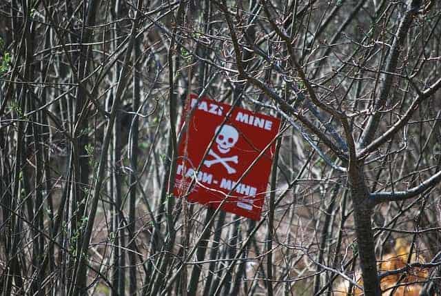 landmines bosnia