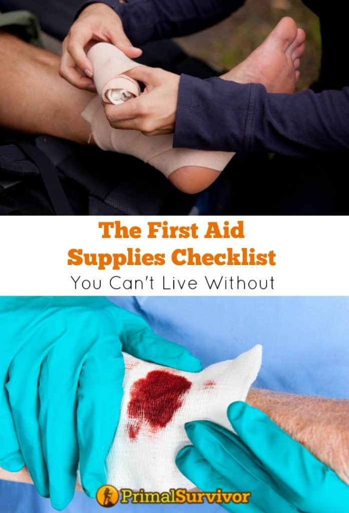 The #First Aid Supplies #Checklist You Can't Live Without