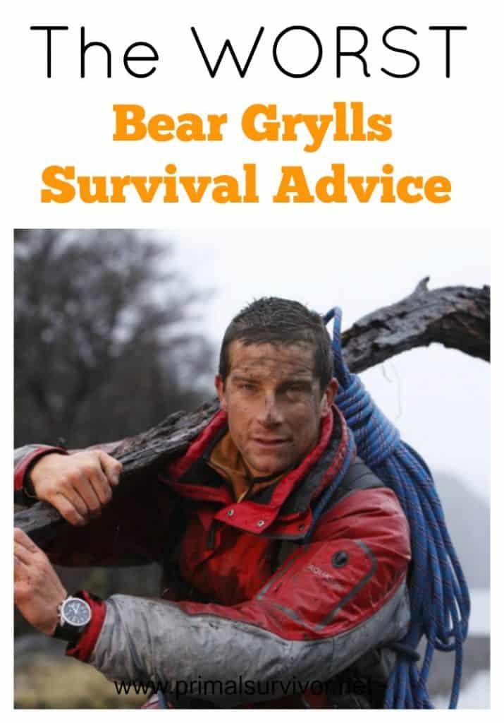 The WORST Bear Grylls Survival Advice