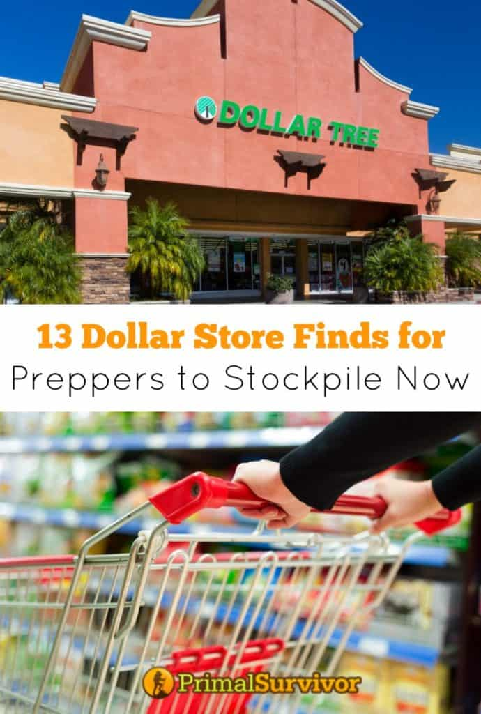13 Dollar Store Finds for Preppers to Stockpile Now