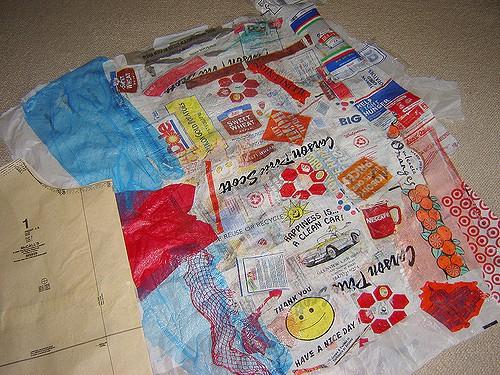 fusing plastic bags
