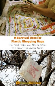 9 #Survival Uses for #Plastic Bags