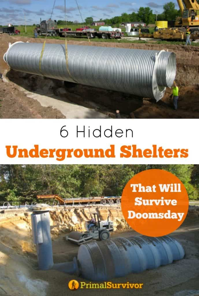 6 Hidden Underground Survival Shelters that will survive Doomsday
