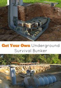 Get Your Own Underground Survival Bunker