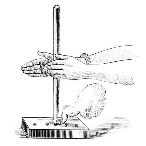hand drill for fire starting