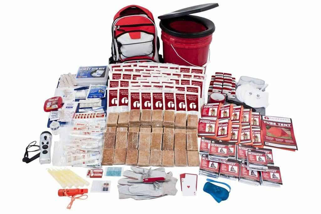 4-Person Disaster Preparedness Kit