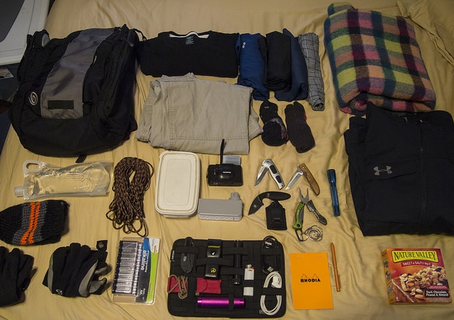 4 Real Life Examples Of Bug Out Bag Contents