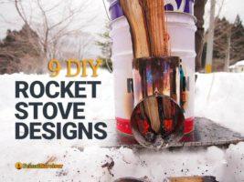 9 DIY Rocket Stove Designs