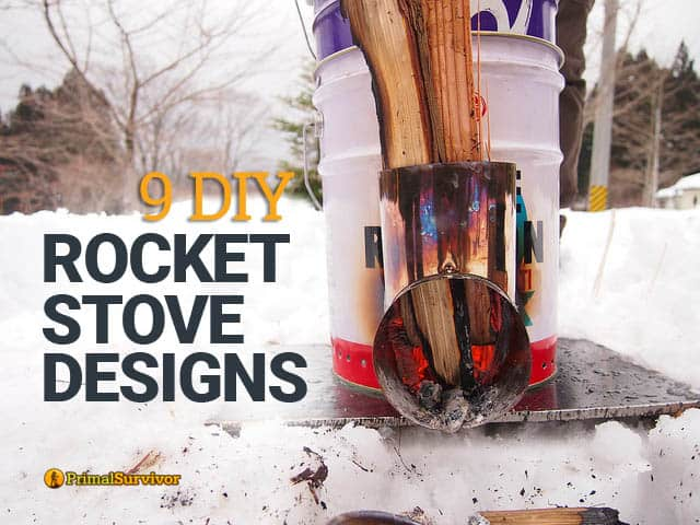 9 DIY Rocket Stove Designs