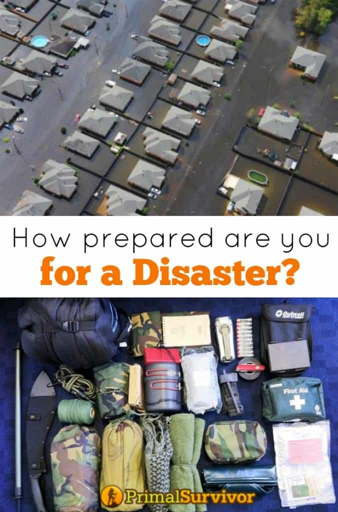Find out how prepared your are for a disaster with this checklist
