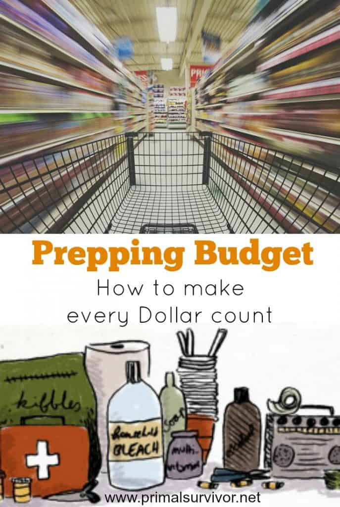 Prepping Budget How to make every Dollar count