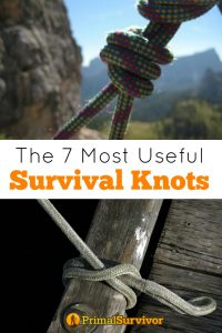 The 7 most useful survival knots