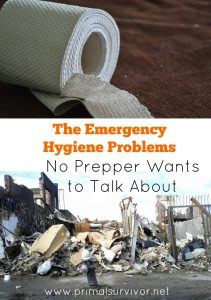 The Emergency Hygiene Problems No Prepper Wants to Talk About