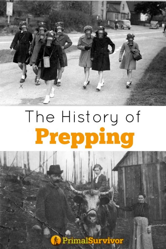 The History of Prepping