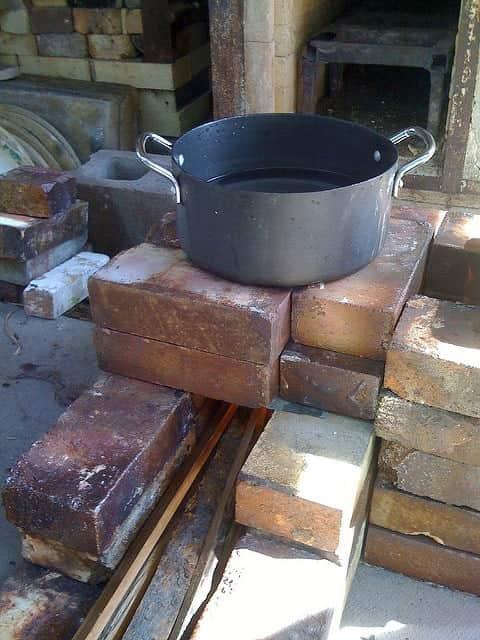 indoor rocket stove design