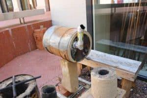 rocket oven design