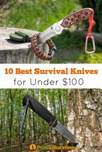 10 Best #Survival #Knives for Under $100