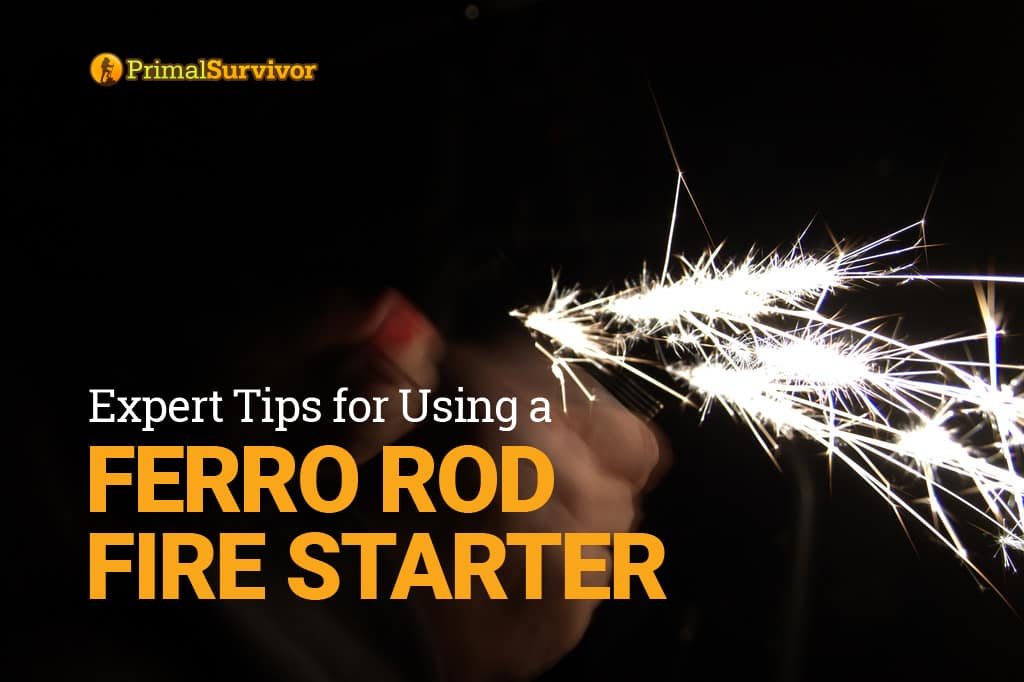ferro rod fire starter tips