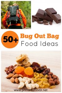 50 Bug Out Bag Food Ideas