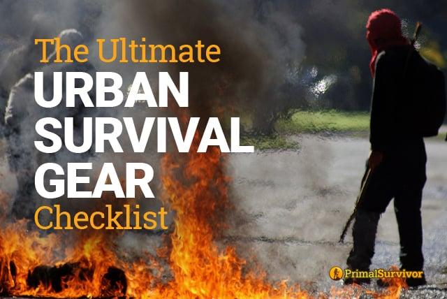 urban survival gear checklist