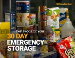 Best Foods for Your 30 Day Emergency Storage