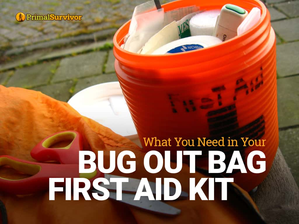 bug out bag first aid kit list