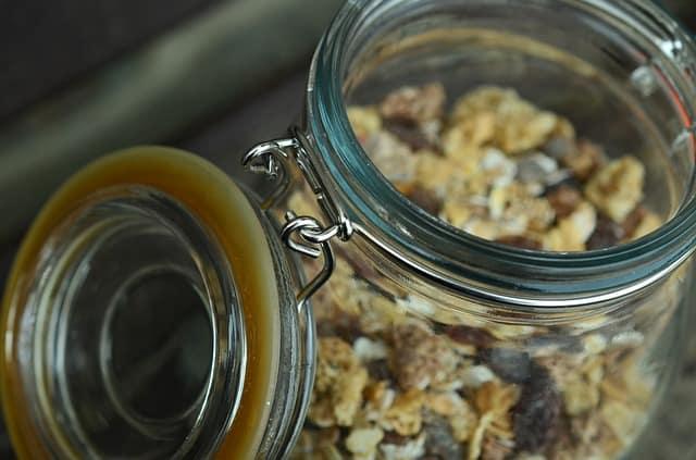 jars for food storage