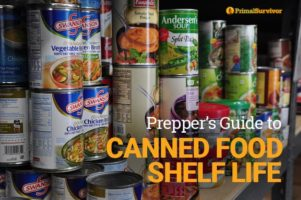Prepper's Guide to Canned Food Shelf Life