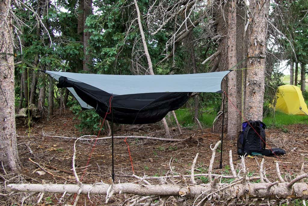 tarp survival shelter