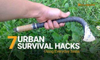7 Urban Survival Hacks Using Everyday Items