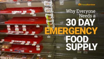 Why Everyone Needs a 30 Day Emergency Food Supply