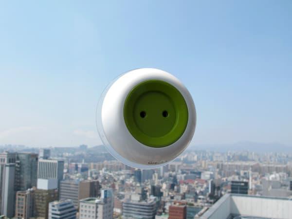 off grid window solar socket