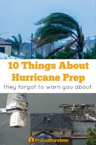 10 things about hurricane preparedness they forgot to warn you about