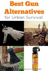 Best Gun Alternatives for Urban Survival