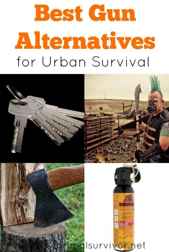 Best Gun Alternatives for Urban Survival
