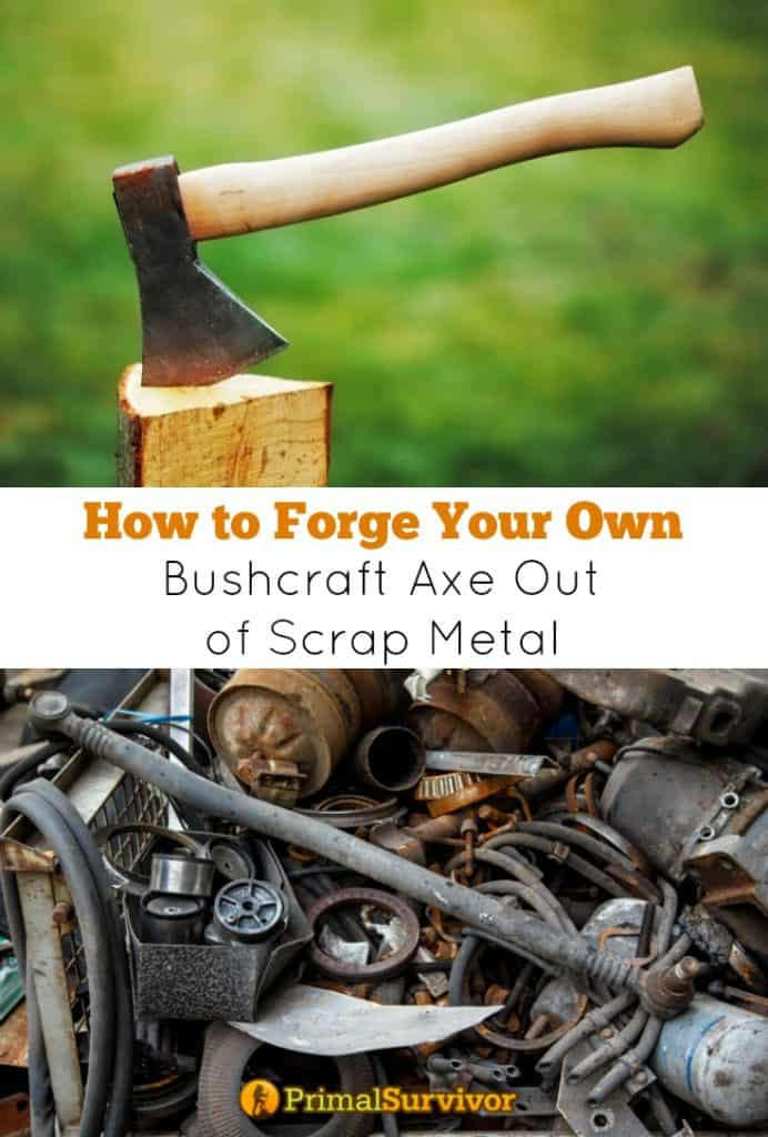 How to #Forge your own #Bushcraft #Axe Out of Scrap Metal