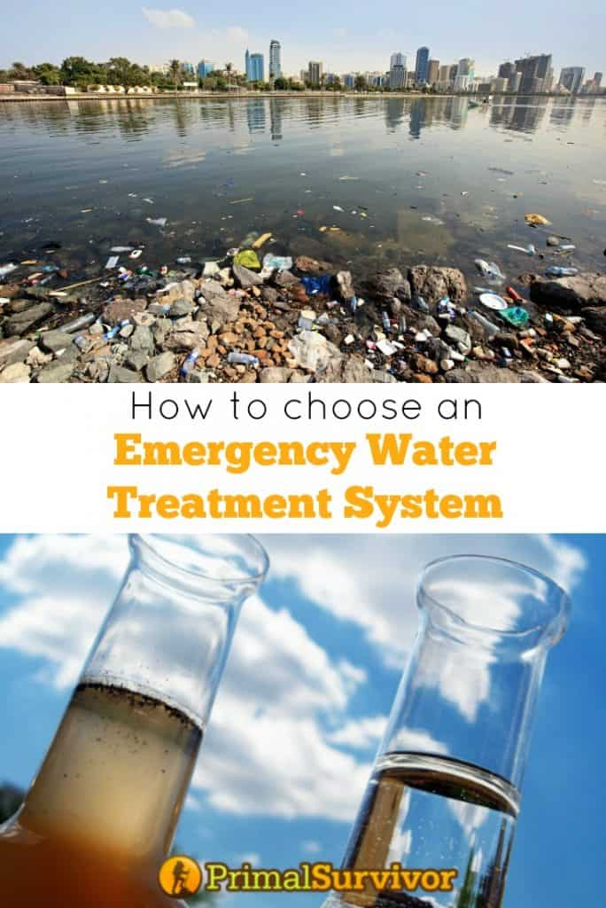 How to choose and emergency water treatment system