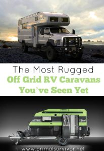 The Most Rugged Off Grid RV Caravans You've Seen Yet