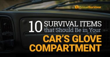 10 Survival Items that Should Be in Your Car's Glove Compartment