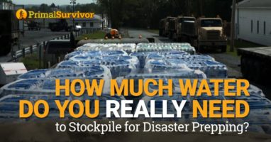 Long Term Emergency Water Storage – How Much Water Do You Need to Stockpile?