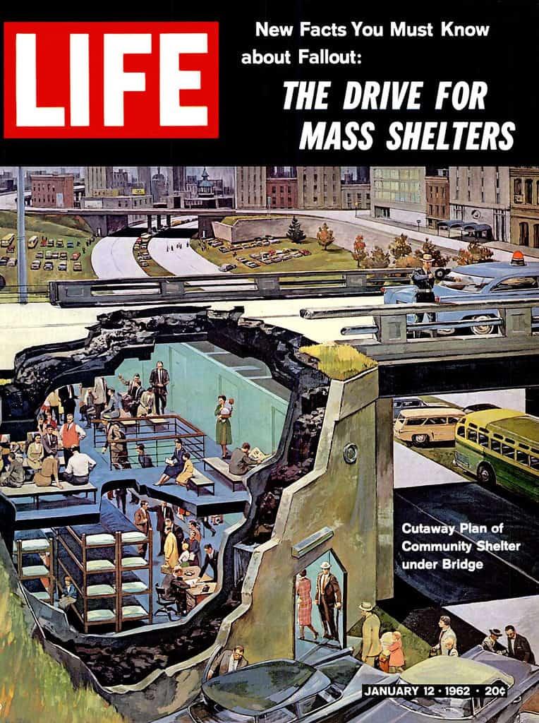 life magazine fallout shelter