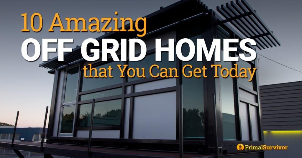 off grid homes