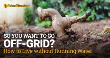 So You Want to Go Off-Grid? How to Live without Running Water