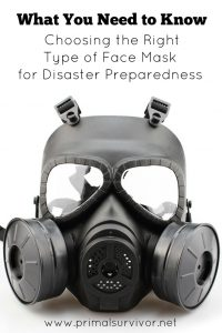 What You Need to Know Choosing the Right Type of Gas Mask for Disaster Preparedness